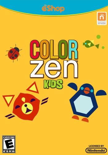 Color Zen Kids WiiU coverM (WKDE)