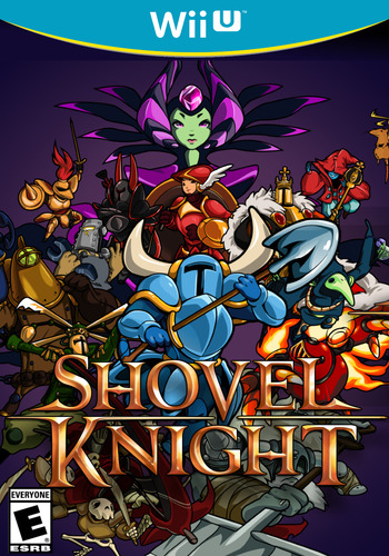 Shovel Knight WiiU coverM (WKNE)