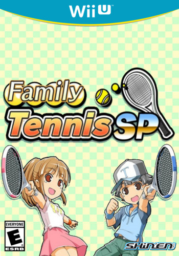 Family Tennis SP WiiU coverM (WLKE)
