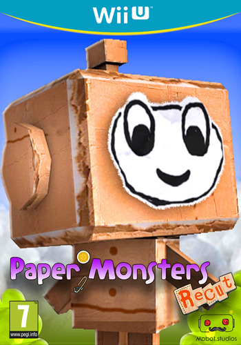 Paper Monsters Recut Array coverM (WM3E)