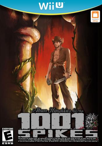1001 Spikes WiiU coverM (WM9E)
