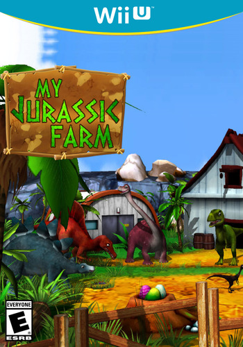 My Jurassic Farm WiiU coverM (WMJE)
