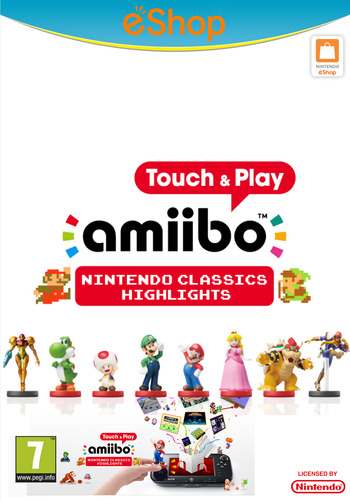amiibo Touch & Play: Nintendo Classics Highlights WiiU coverM2 (AAVP)