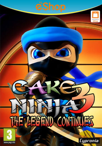 Cake Ninja 3: The Legend Continues WiiU coverM2 (ACNP)