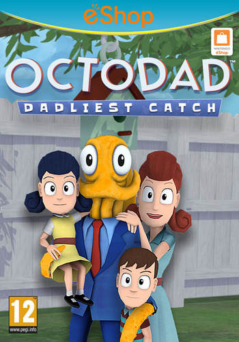 Octodad: Dadliest Catch WiiU coverM2 (AD5P)