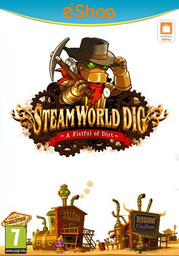 SteamWorld Dig WiiU coverM2 (ADGP)
