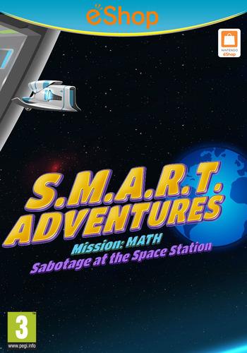 SMART Adventures Mission Math: Sabotage at the Space Station WiiU coverM2 (ADMP)