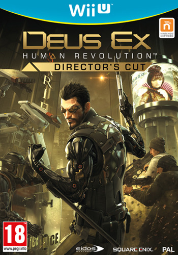 Deus Ex: Human Revolution - Director's Cut WiiU coverM2 (ADXPGD)
