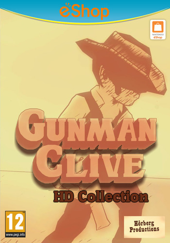 Gunman Clive HD Collection WiiU coverM2 (AGWP)
