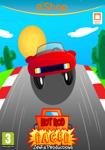 Hot Rod Racer WiiU coverM2 (AHZP)