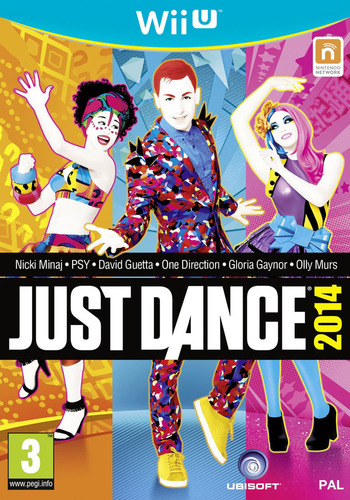 Just Dance 2014 WiiU coverM2 (AJ5P41)