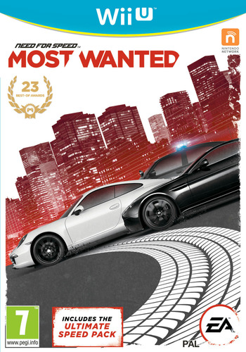 Need for Speed: Most Wanted U WiiU coverM2 (ANSP69)