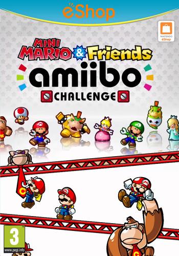 Mini Mario & Friends: amiibo Challenge WiiU coverM2 (AP5P)