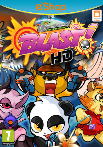 Wicked Monsters Blast! HD PLUS WiiU coverM2 (AWMP)