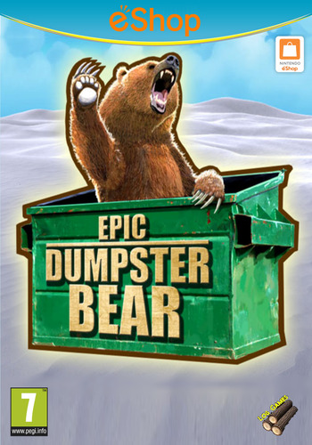 Epic Dumpster Bear WiiU coverM2 (BDPP)