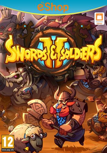 Swords & Soldiers II WiiU coverM2 (BS2P)