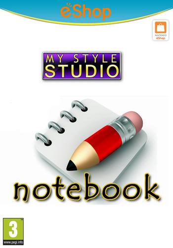 My Style Studio: Notebook WiiU coverM2 (WBKP)