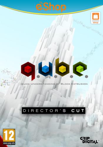 Q.U.B.E: Director's Cut WiiU coverM2 (WDCP)