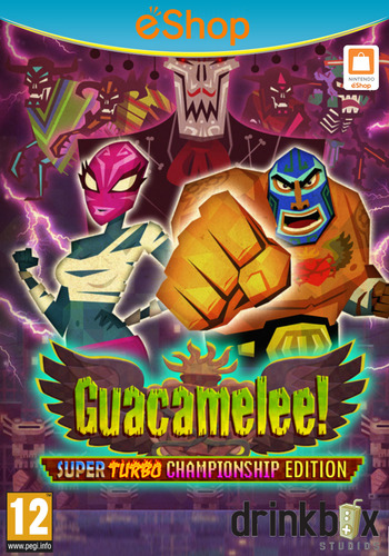 Guacamelee! Super Turbo Championship Edition WiiU coverM2 (WGCP)