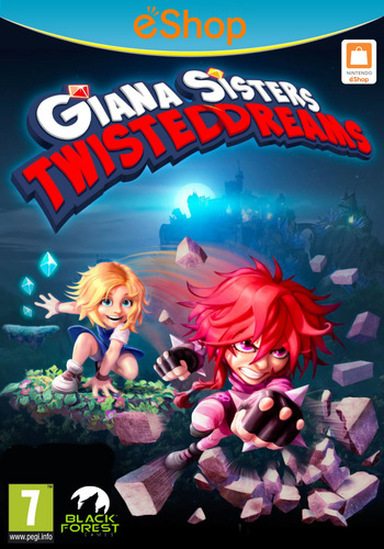 Giana Sisters: Twisted Dreams Array coverM2 (WGSP)