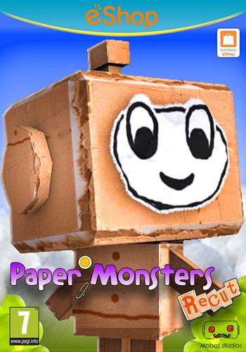 Paper Monsters Recut WiiU coverM2 (WM3P)