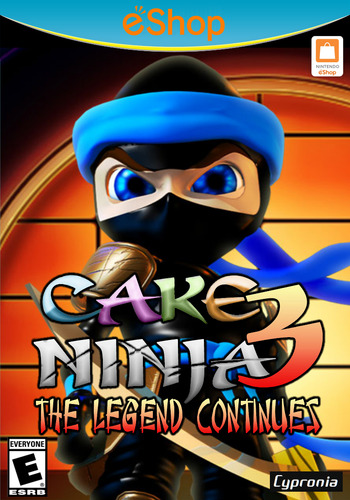 Cake Ninja 3: The Legend Continues WiiU coverM2 (ACNE)