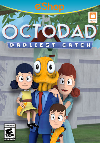 Octodad: Dadliest Catch WiiU coverM2 (AD5E)