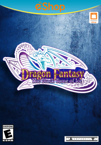 Dragon Fantasy: The Black Tome of Ice WiiU coverM2 (AFYE)