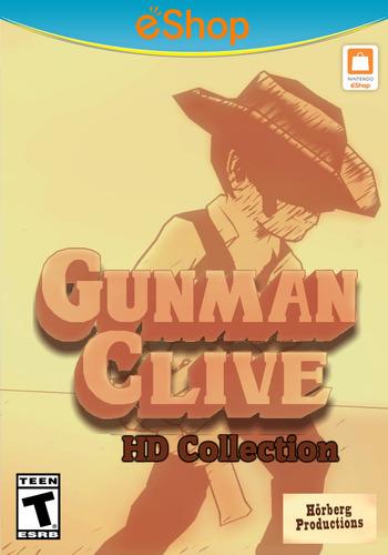 Gunman Clive HD Collection WiiU coverM2 (AGWE)