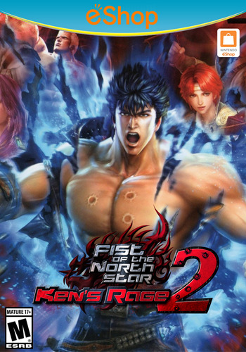 Fist of the North Star: Ken's Rage 2 WiiU coverM2 (AH9E)