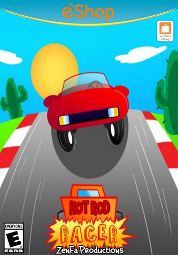 Hot Rod Racer WiiU coverM2 (AHZE)
