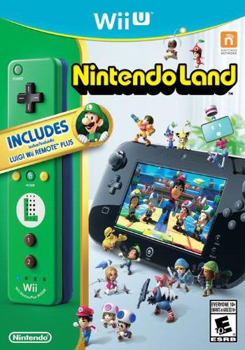 Nintendo Land WiiU coverM2 (ALCE01)