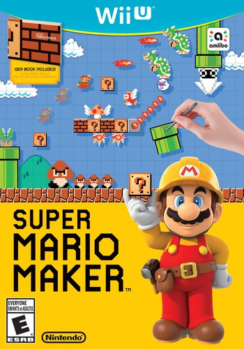 Super Mario Maker WiiU coverM2 (AMAE01)