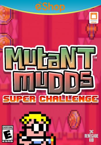Mutant Mudds Super Challenge WiiU coverM2 (AMUE)