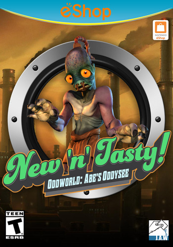 Oddworld: New 'n' Tasty Array coverM2 (ANWE)