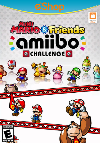 Mini Mario & Friends: amiibo Challenge WiiU coverM2 (AP5E)