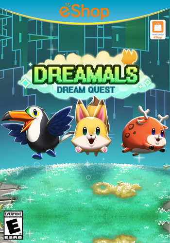 Dreamals - Dream Quest WiiU coverM2 (AQBE)