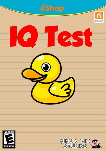 IQ Test WiiU coverM2 (AQTE)