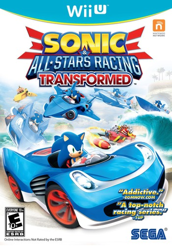 Sonic & All-Stars Racing Transformed WiiU coverM2 (AS2E8P)