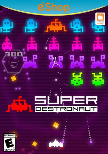 Super Destronaut WiiU coverM2 (ASJE)