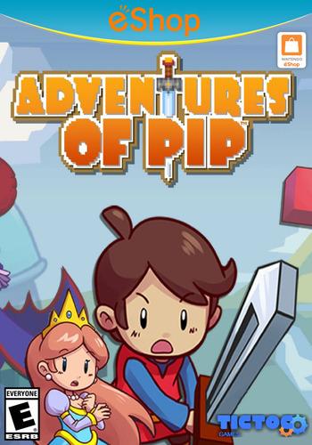 Adventures of Pip WiiU coverM2 (BAPE)