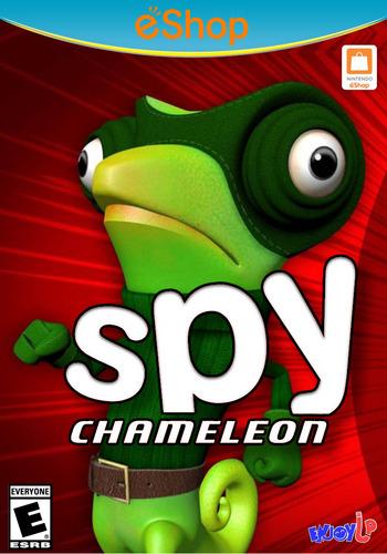 Spy Chameleon WiiU coverM2 (BC9E)