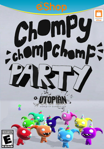 Chompy Chomp Chomp Party WiiU coverM2 (BCHE)