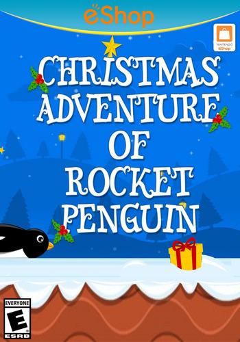 Christmas Adventure of Rocket Penguin WiiU coverM2 (BCKE)