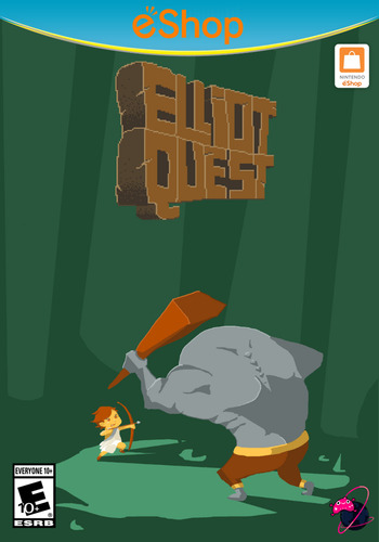 Elliot Quest WiiU coverM2 (BEQE)