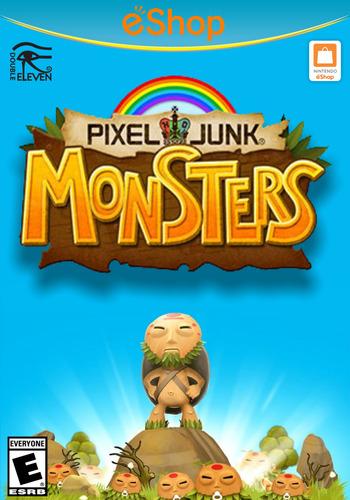 PIXELJUNK MONSTERS WiiU coverM2 (BPHE)