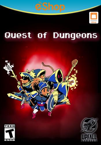 Quest of Dungeons WiiU coverM2 (BQDE)
