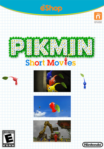 Pikmin Short Movies HD WiiU coverM2 (MCVE)