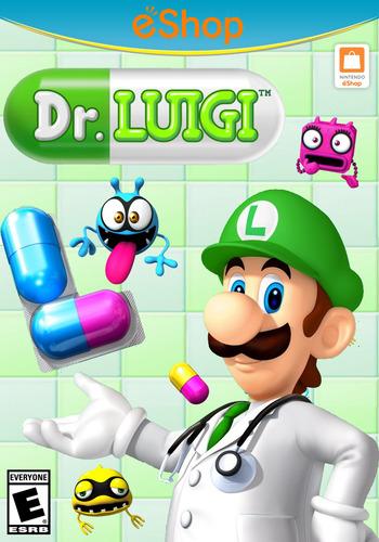 Dr. Luigi WiiU coverM2 (WAQE)