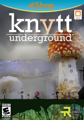 Knytt Underground WiiU coverM2 (WBCE)